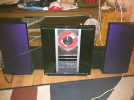 beosystem 2300 with intergal speakers