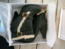 Size 6 high heel boots