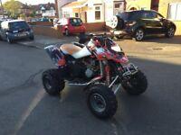 Road legal quad bike bombardier 650ds