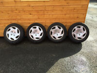 4 OF 4 PEUGEOT 206 WHEELS AND TYRES 175 X 65