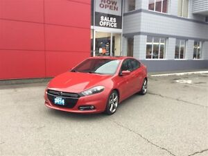 2014 Dodge Dart GT GT 6 Speed, Leather, Nav, Accident Free!