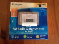 Kensington Ipod FM Radio and Transmitter