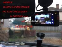 CAR VAN DASH CAM ACCIDENT RECORDER FITTING INSTALLATION PROVIDE in London area