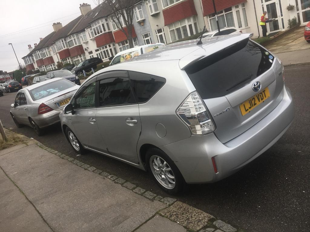 toyota prius plus 7 seater hybrid in croydon london. Black Bedroom Furniture Sets. Home Design Ideas