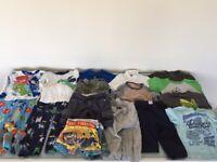 4 Boys Clothes Bundle Age 4, Gap, Baby Gap, Puma t-shirts, shorts, sweat pants, PJ's