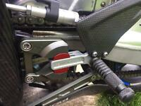 BMW S1000RR Genuine HP Gilles Rearsets