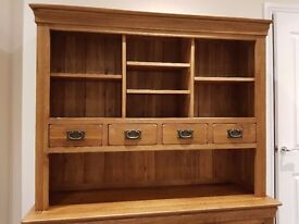 Oak Large Dresser Top Only (Nearly New)