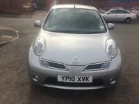 Nissan Micra 1.2 16v N-TEC 5Dr with Sat nav, Service History and 48k on the clock only