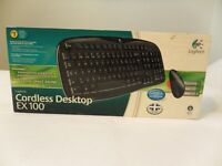 Logitech wireless keyboard and wired mouse