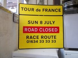 2007 Tour de France Road Sign