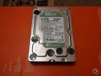 "3TB Western Digital WD30EZRX-00MMMB0 SATA III 64 MB Cache 3,5"" Desktop Hard Drive, used only 9hours"