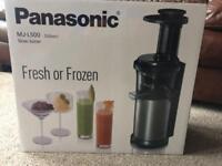 Brand new Panasonic slow juicer