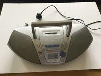 Panasonic RX ES 25 vintage boom box.