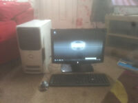 for sale computer set up windows 7 full workin g order £25