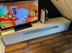 Tv Unit white gloss