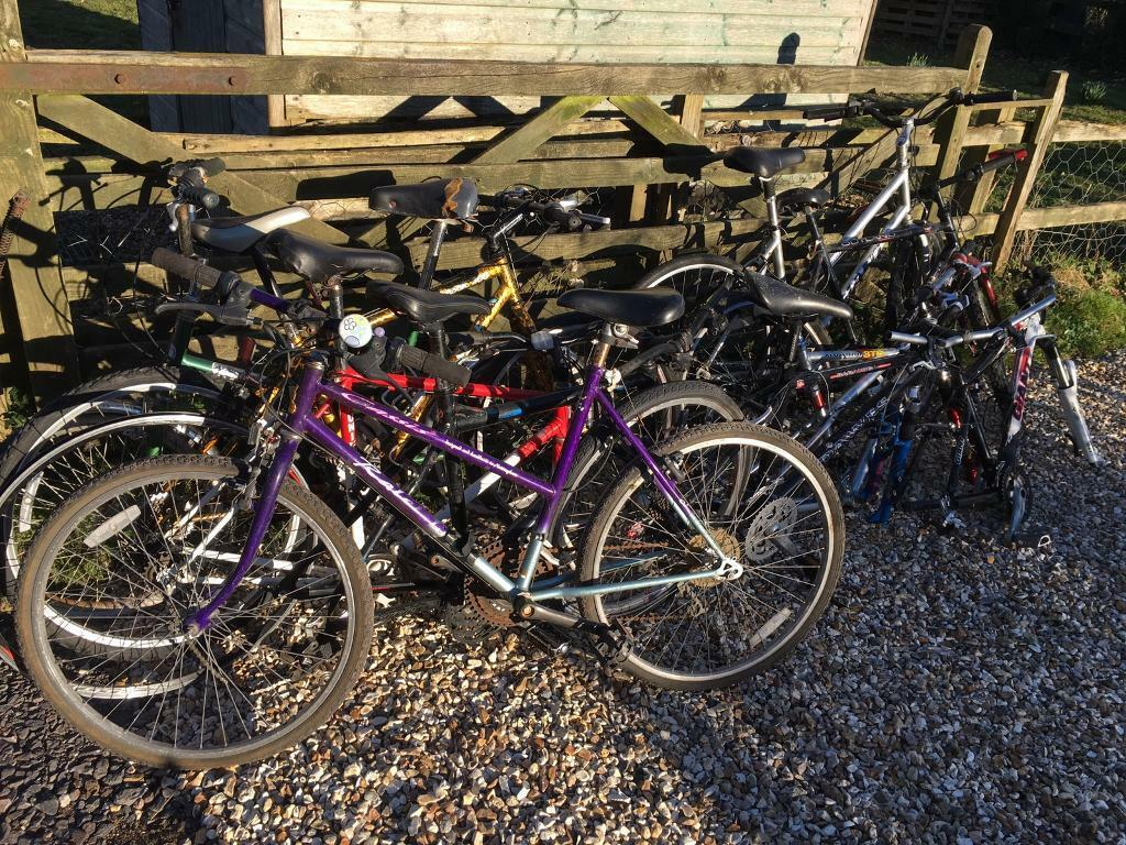 Job lot of cycles with spares incl  £75 | in Blandford Forum, Dorset |  Gumtree