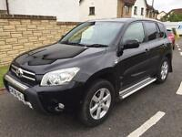 Toyota RAV4 2.2d4d xtr 6 speed 08reg 1 owner fsh full leather top spec