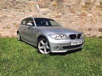 BMW 120i 5 DOOR HATCHBACK, LEATHER INTERIOR