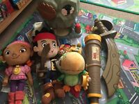Jake and the never land pirates Disney toy bundle