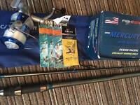 Brand new sea/pike rod and reel
