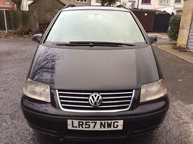 2007 Volkswagen Sharan 1.9 TDI PD S 5dr HPI Clear @07445775115@ 07725982426@