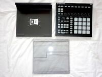 NATIVE INSTRUMENTS MACHINE MK II + NI STAND + DECKSAVER - C/W SOFTWARE/HARDWARE LICENCES - BOXED.