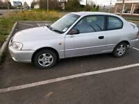 1.3 Hyundai accent is hatchback