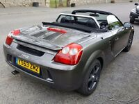 2003 toyota mr2 spyder for sale or swap for motorbike