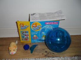 Zhu Zhu Pets Adventure Ball with Original Box