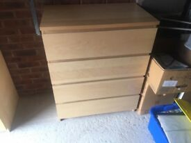 Ikea drawers, various sizes