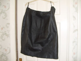 New Leather skirt.