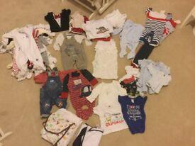 Baby cloths 0-3 months