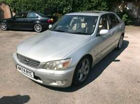 Lexus IS200 manual **P/X WELCOME**