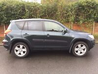 Toyota RAV4; 4x4; great condition; high spec; full service history; 10 month MOT