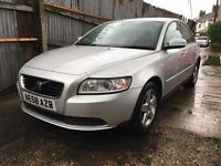2008/58 Volvo S40 S 16v 1.6 5G 100Bhp Full Service History 1F Keeper Mot:22/09/17 Air Condition