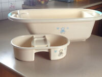 """Baby Bath with Top and Tail Bowl - I Love My Bear from Babies""""R""""us"""