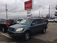 2005 Honda Pilot EX-L NO ACCIDENTS LEATHER/DVD FULLY LOADED CLEA