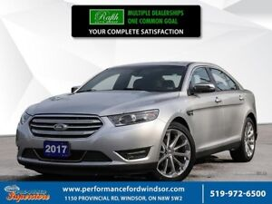 2017 Ford Taurus Limited ***NAV, AWD, leather***