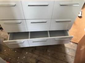 White chest of drawers, needs a new home