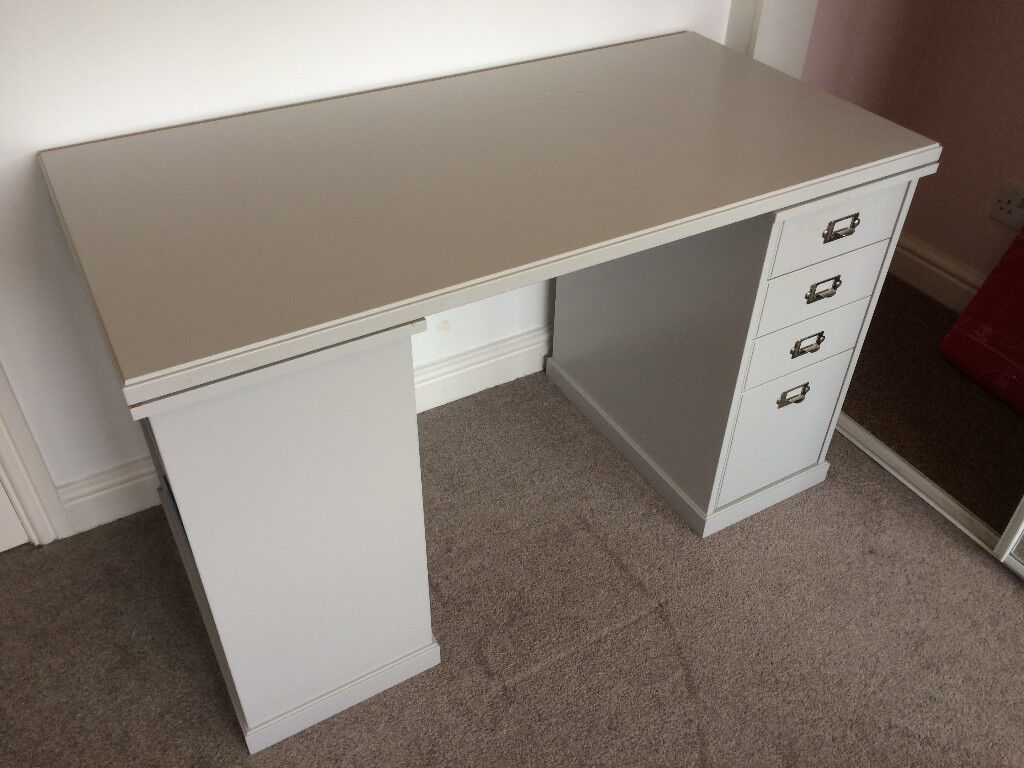 Grey ikea desk klimpen cost £ great condition in blaydon