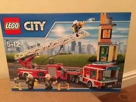 LEGO City Fire Engine 60112 - New & sealed - retired set