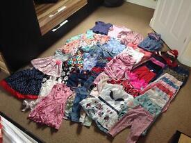 HUGE girl's clothing bundle 18-24 months