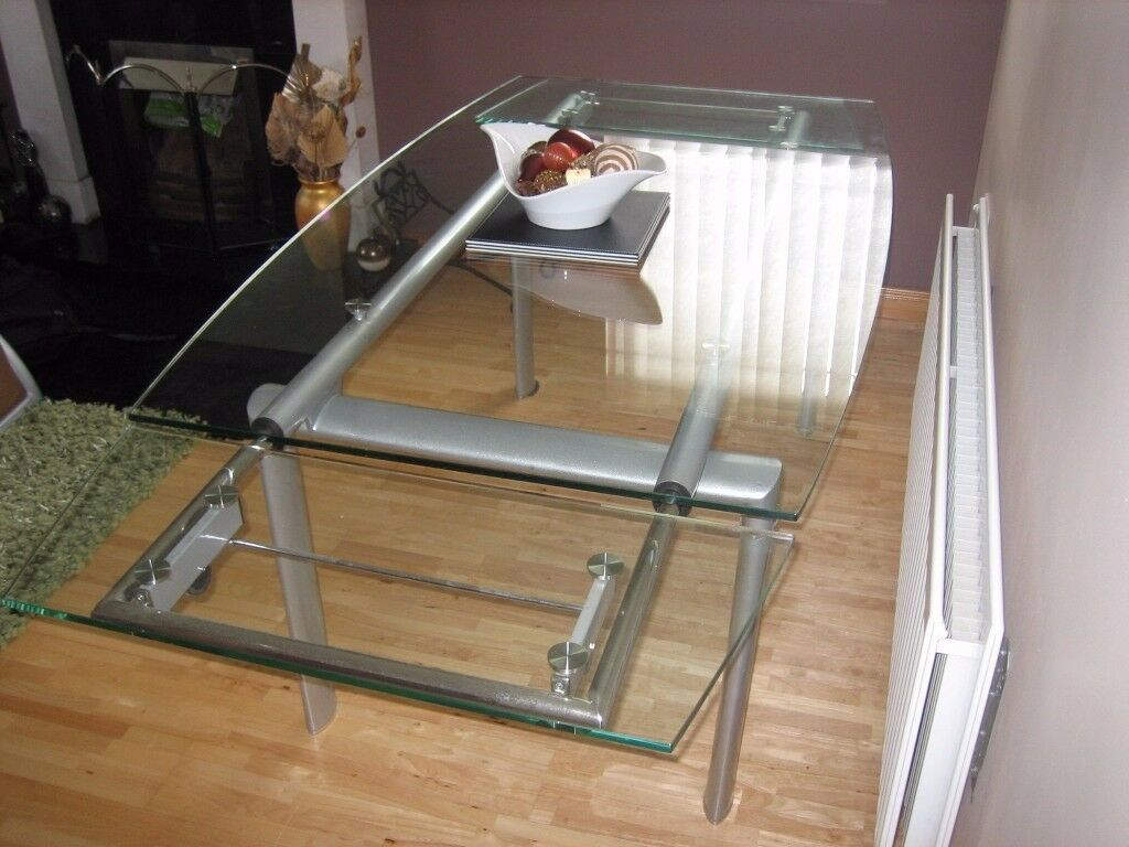 Glass Dining Table Large