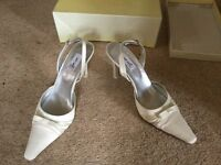 Cream shoes suitable for wedding/special occassion