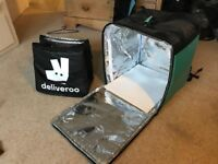 Deliveroo Kit backpack and thermal bag