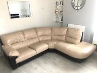 Dfs leather sofa for Sale in Hampshire | Sofas, Couches