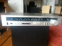 Sansui T7 AM/FM Stereo Tuner. Silver. Auto/Manual Tuning. Backlit Display. Hi-Fi sound quality. £10.