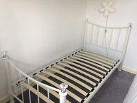 Girls metal bed frame