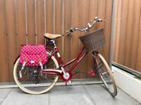 "Like New 19"" Pendleton Dutch Bike - Accessories included"