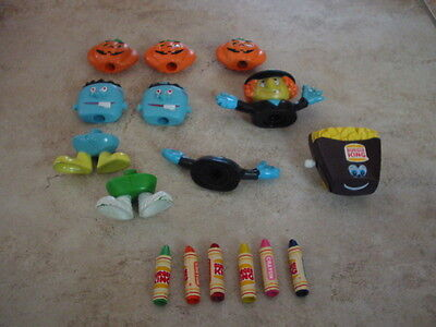 Lot of Burger King Kids Meal Toys including Halloween Pieces ](Kids Halloween Toys)